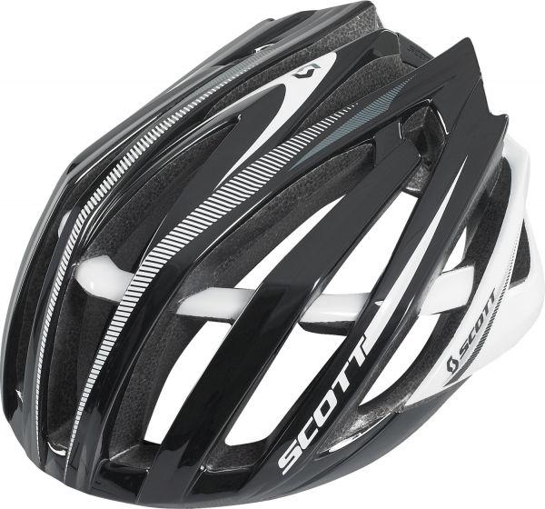 SCOTT Helm Vanish-R schwarz/weiß