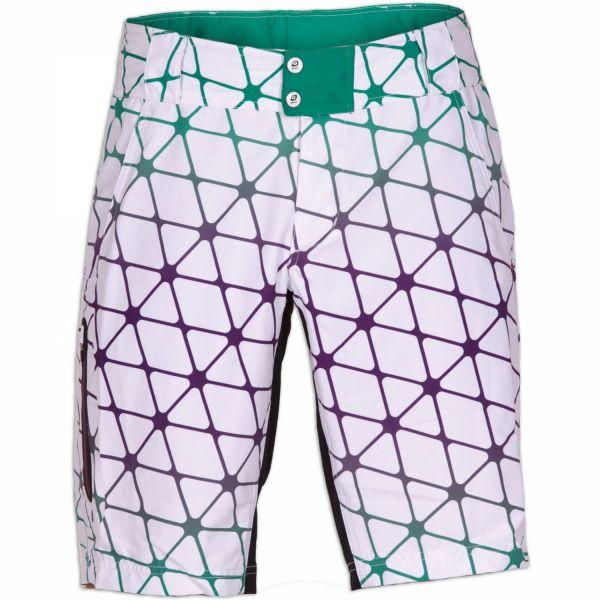 Qloom Yamba Shorts w. pad. weiß