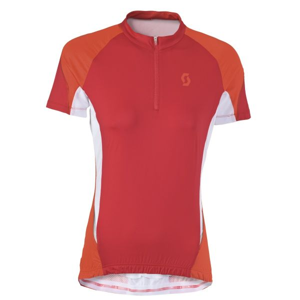 Shirt W\'s Scott Shadow s/sl red/orange