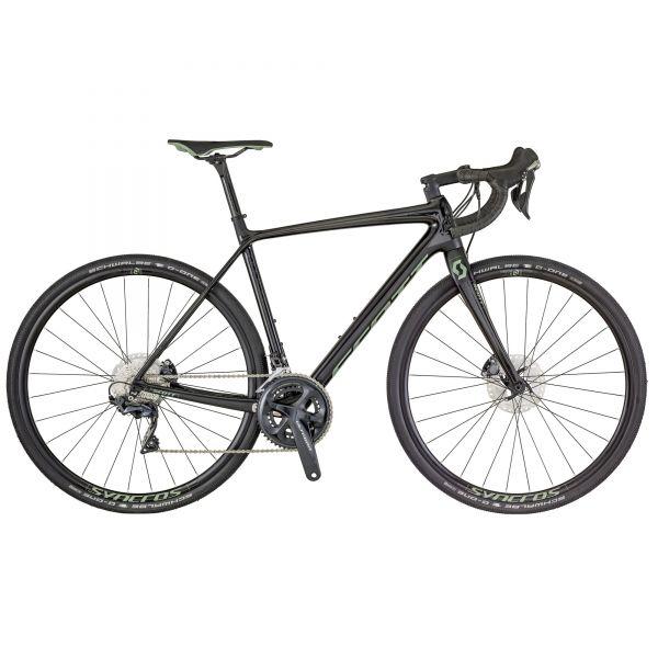 Radsport Scott AS 20 Fahrrad Knielinge schwarz 2018 Fahrradbekleidung