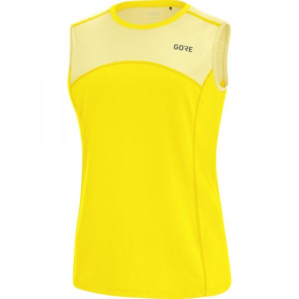 half off 36d28 56a7e GORE® R5 Damen Shirt ärmellos-solar yellow/light yellow