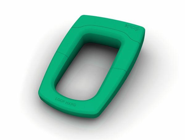 Knog Bouncer Bügelschloss grün