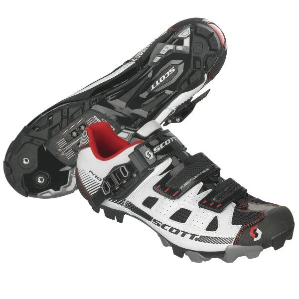 Shoe Scott MTB Pro wht/bl gloss