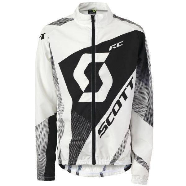 Jacket Windbreaker JR Scott RC white/black